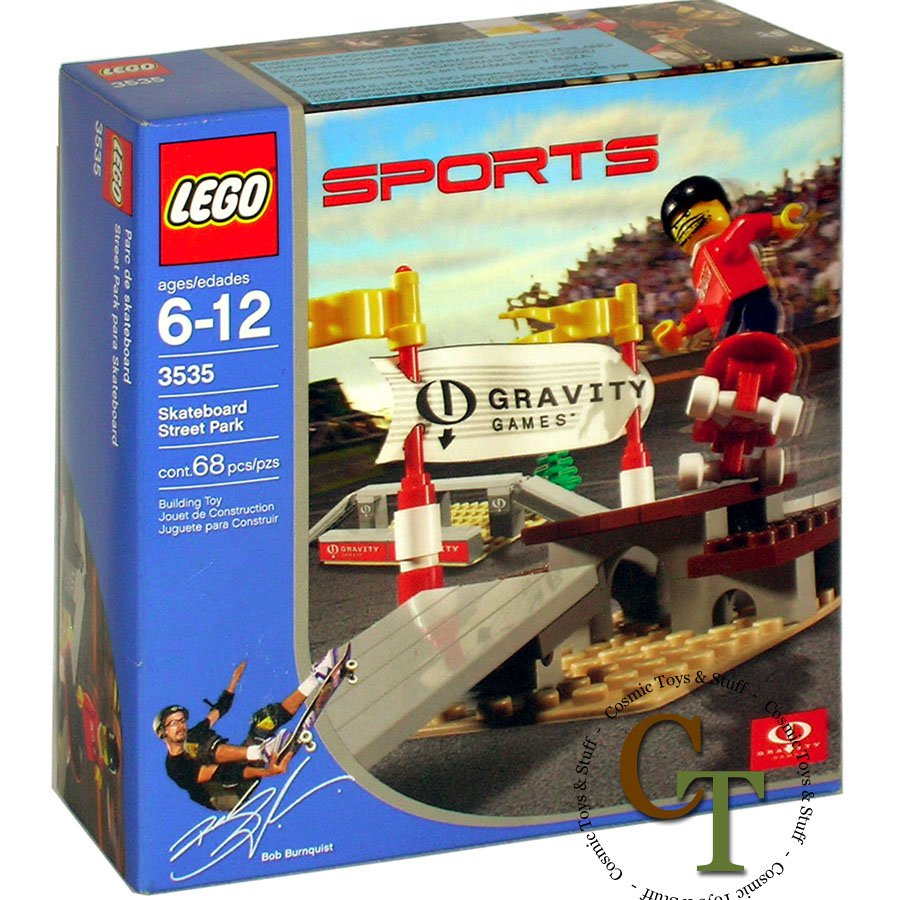 LEGO 3535 Skateboard Street Park - Gravity Games
