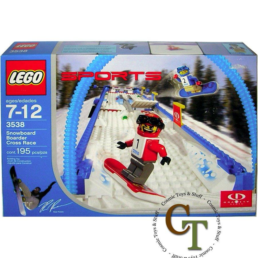 LEGO 3538 Snowboard Boarder Cross Race - Gravity Games