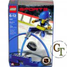 LEGO 3557 Blue Player & Goal - Sports Hockey