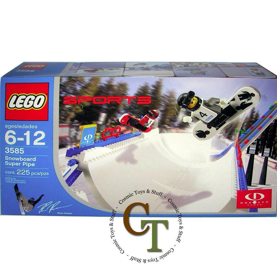 LEGO 3585 Snowboard Super Pipe - Gravity Games