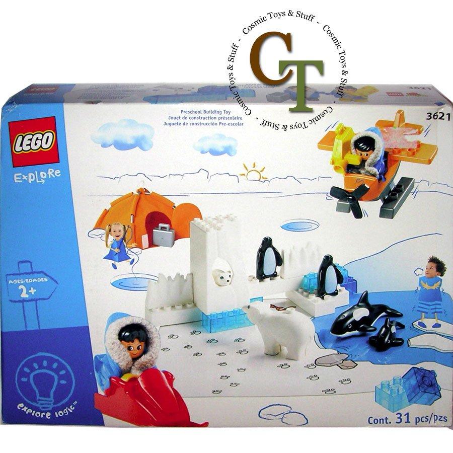 LEGO 3621 Polar Animals - DUPLO
