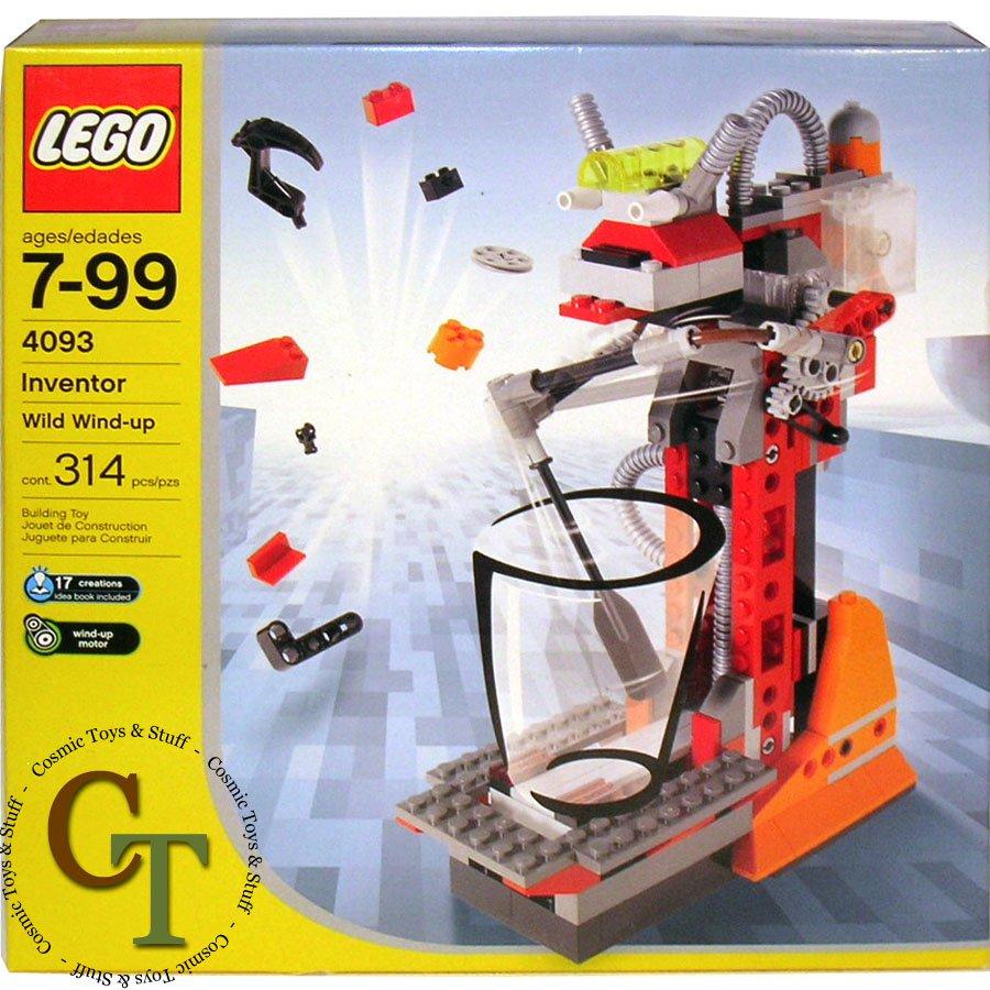 LEGO 4093 Wild Wind-up - Inventor