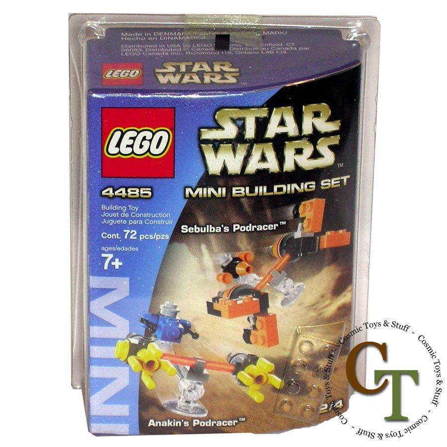 LEGO 4485 Sebulba's Podracer & Anakin's Podracer mini - Star Wars