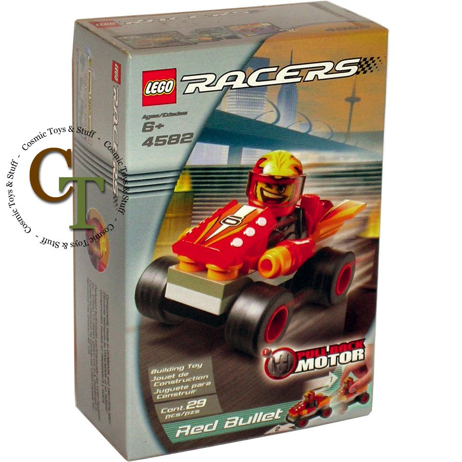 LEGO 4582 Red Bullet - Racers