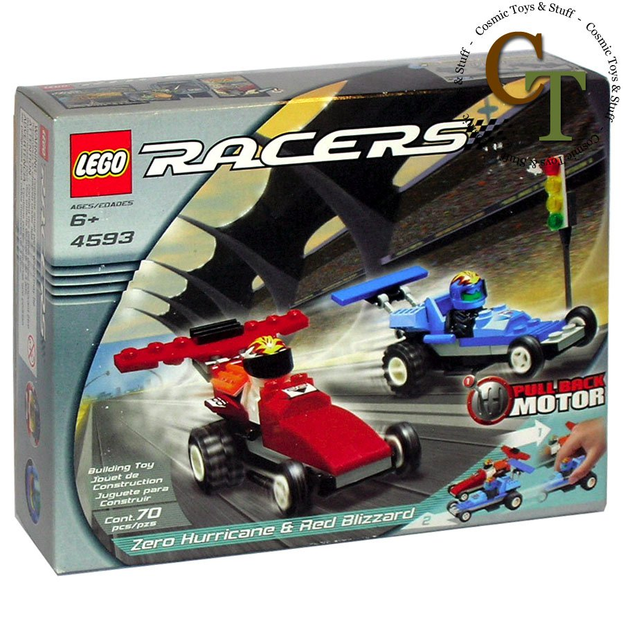 LEGO 4593 Zero Hurricane and Red Blizzard - Racers
