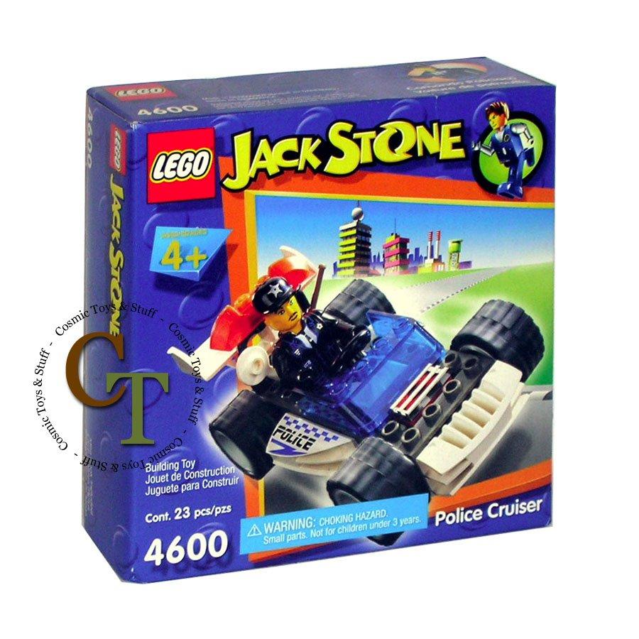 LEGO 4600 Police Cruiser - Jack Stone