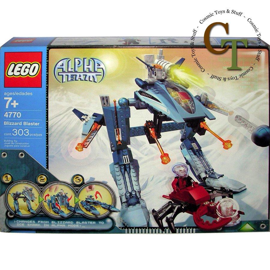 LEGO 4770 Blizzard Blaster - Alpha Team