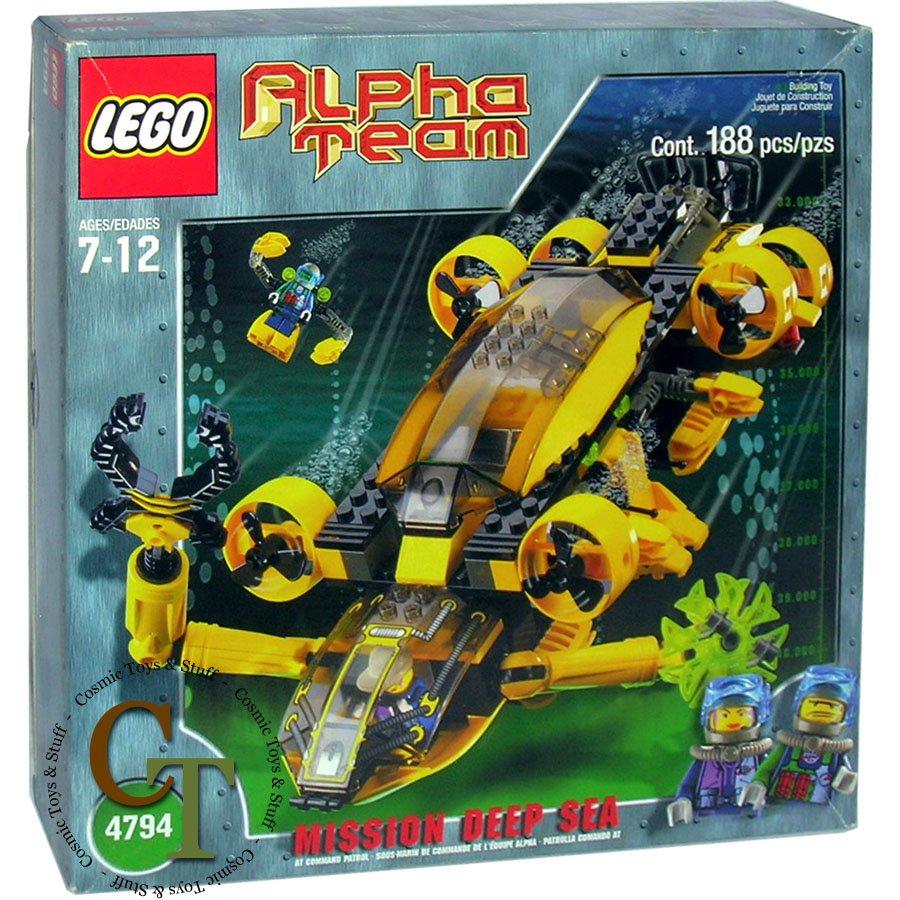 LEGO 4794 Command Patrol - Alpha Team