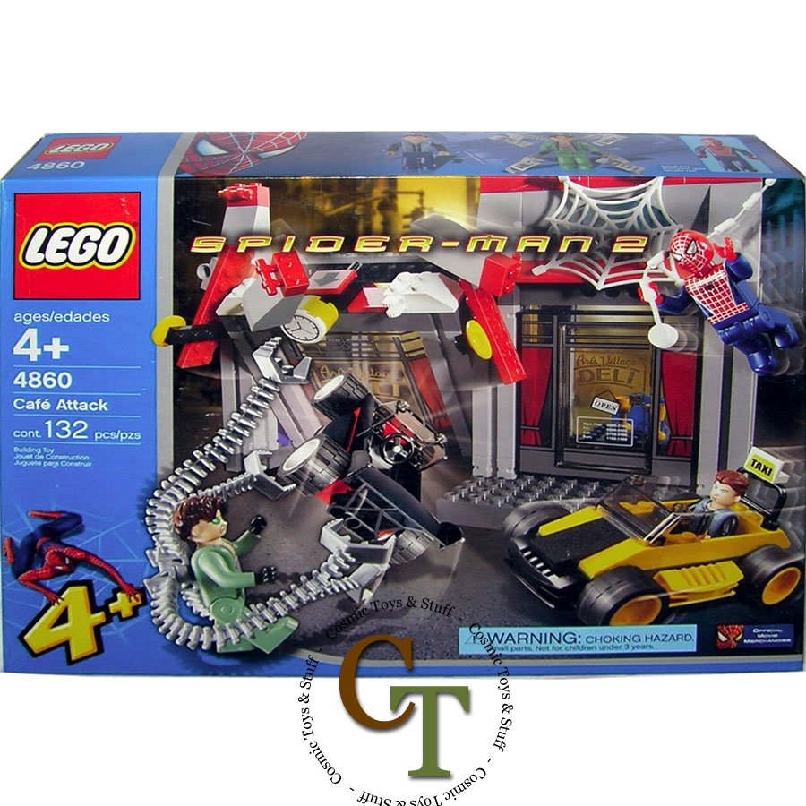LEGO 4860 Doc Ock's Cafe Attack - Spiderman