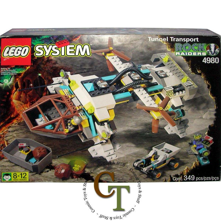 LEGO 4980 Tunnel Transport - Rock Raiders