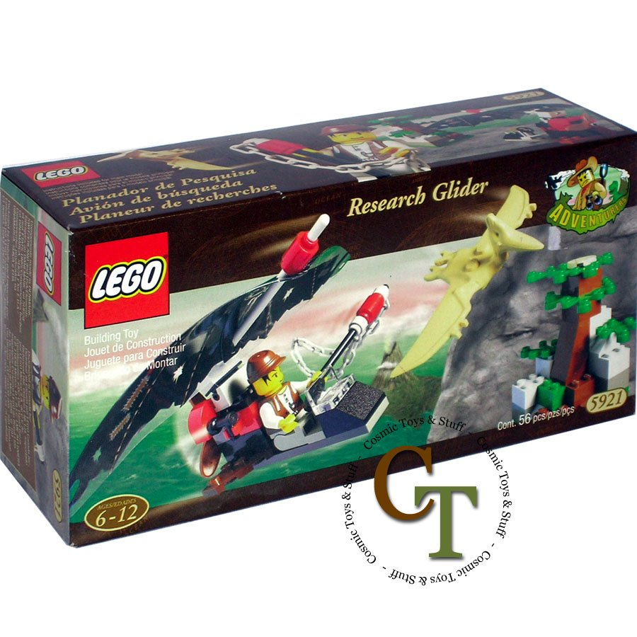LEGO 5921 Research Glider - Dinosaurs