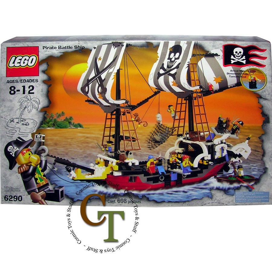 LEGO 6290 Pirate Battleship - Pirates