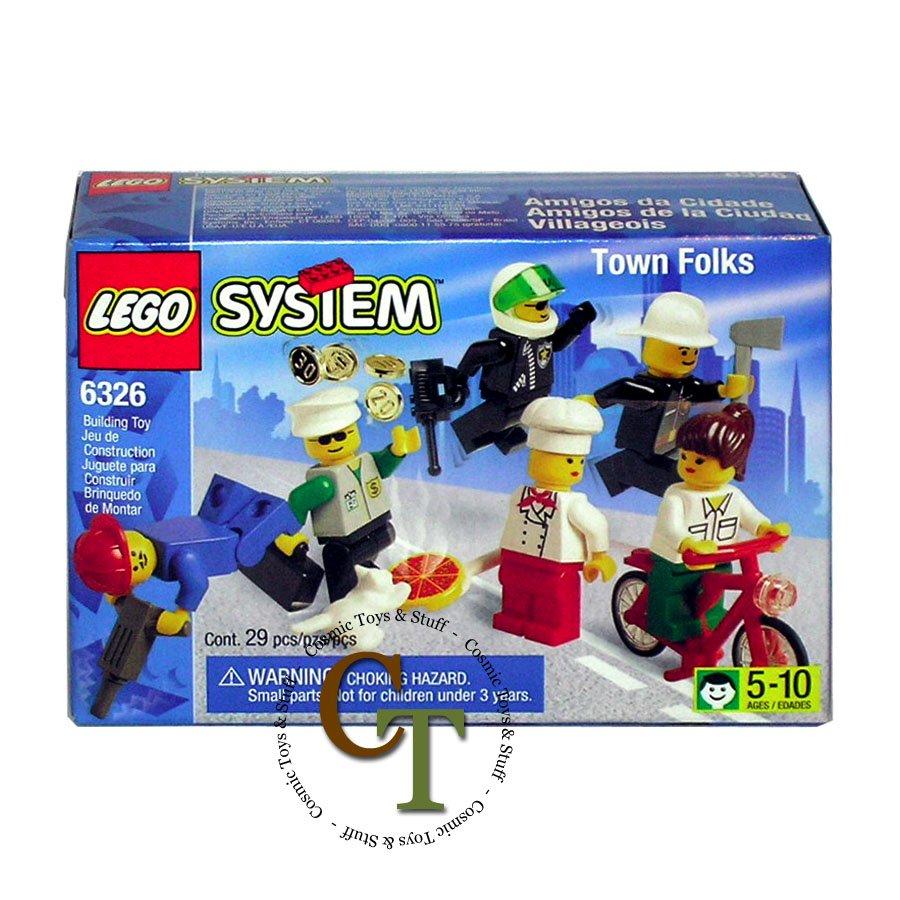 LEGO 6326 Lego Folks minifigure collection - Town