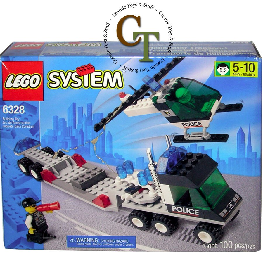 LEGO 6328 Hellicopter Transport - City Center