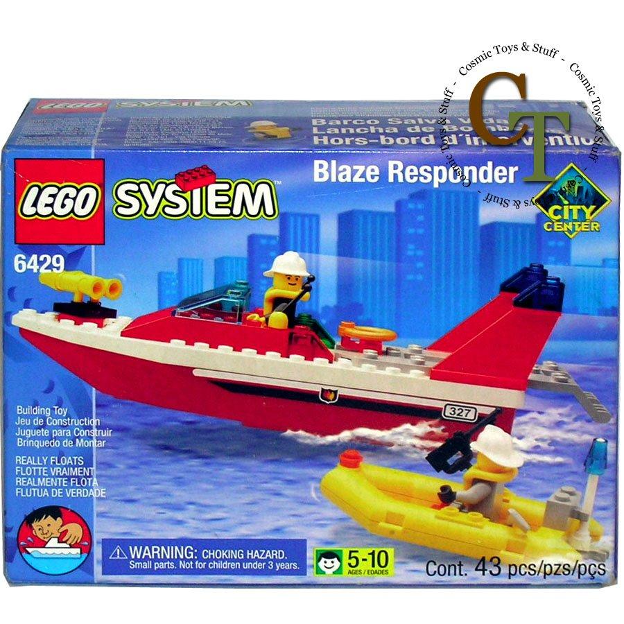 LEGO 6429 Blaze Responder - City Center