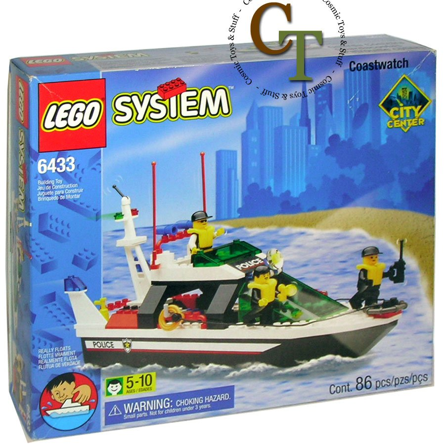 LEGO 6433 Coastwatch - City Center