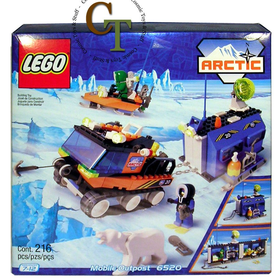 LEGO 6520 Mobile Outpost - Arctic
