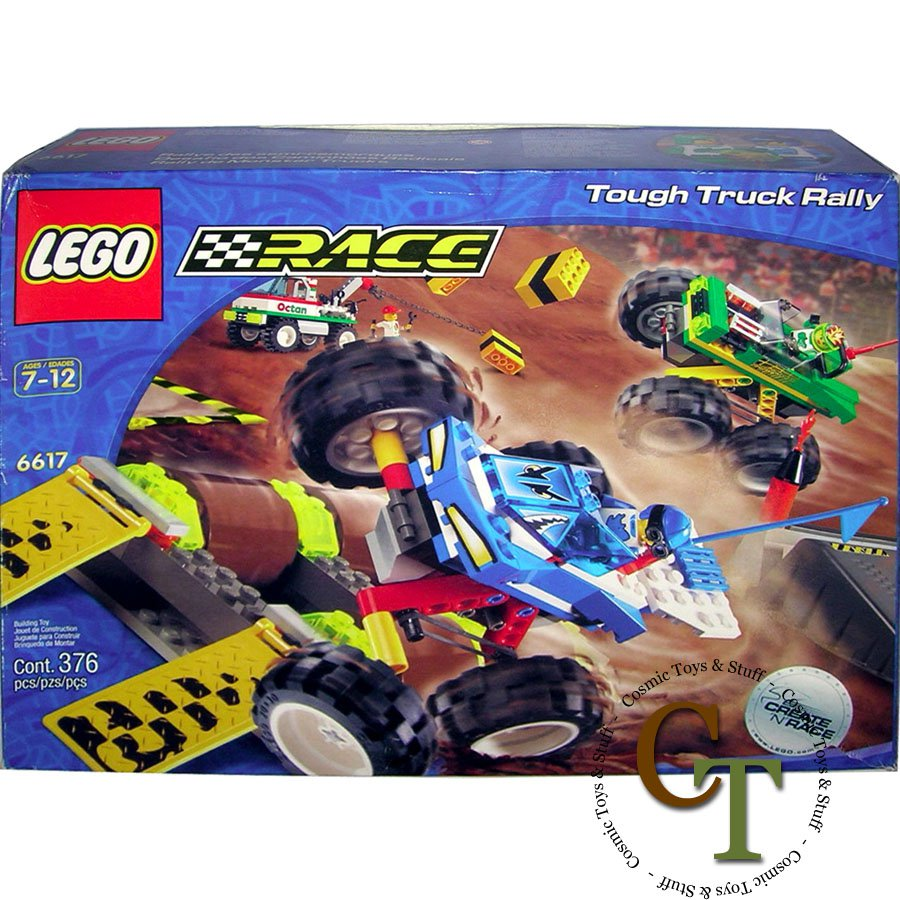LEGO 6617 Tough Truck Rally - Racers