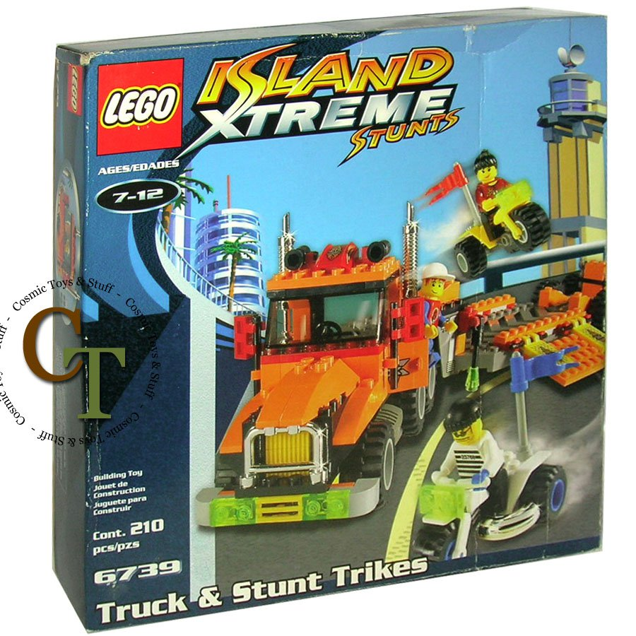LEGO 6739 Truck and Stunt Trikes - Island Xtreme