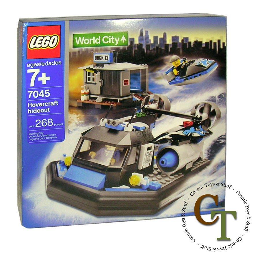 LEGO 7045 Hovercraft Hideout - World City