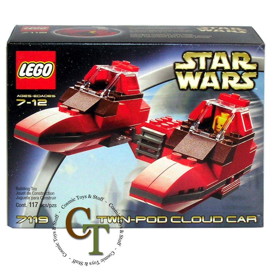LEGO 7119 Twin-Pod Cloud Car - Star Wars