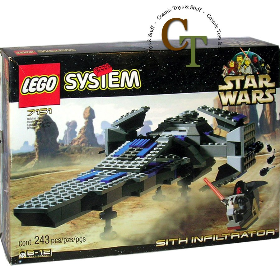 LEGO 7151 Sith Infiltrator - Star Wars