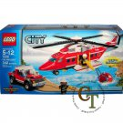 LEGO 7206 Fire Helicopter - City