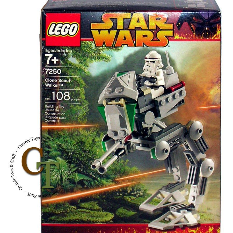 Lego 7250 Clone Scout Walker Star Wars