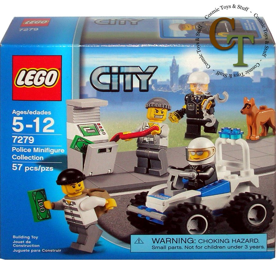 LEGO 7279 Police Minifigure Collection - City