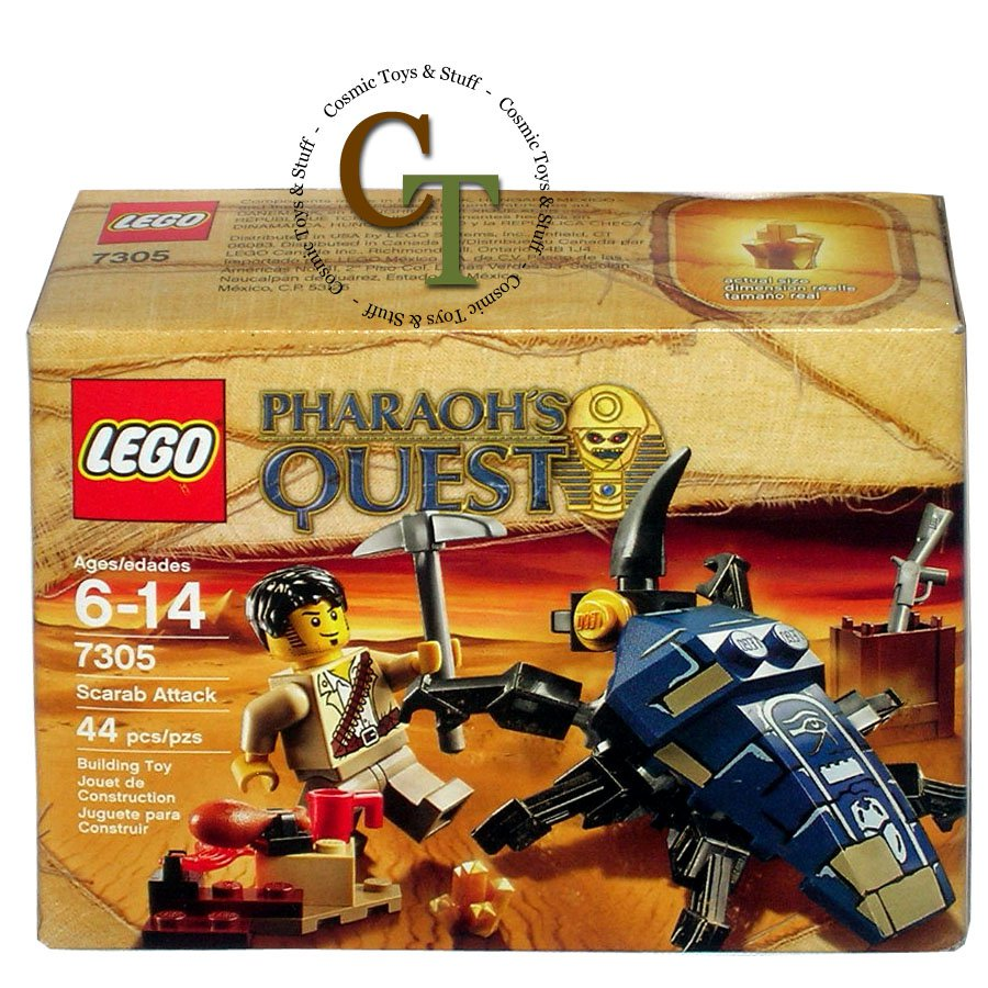 LEGO 7305 Scarab Attack - Pharaoh's Quest