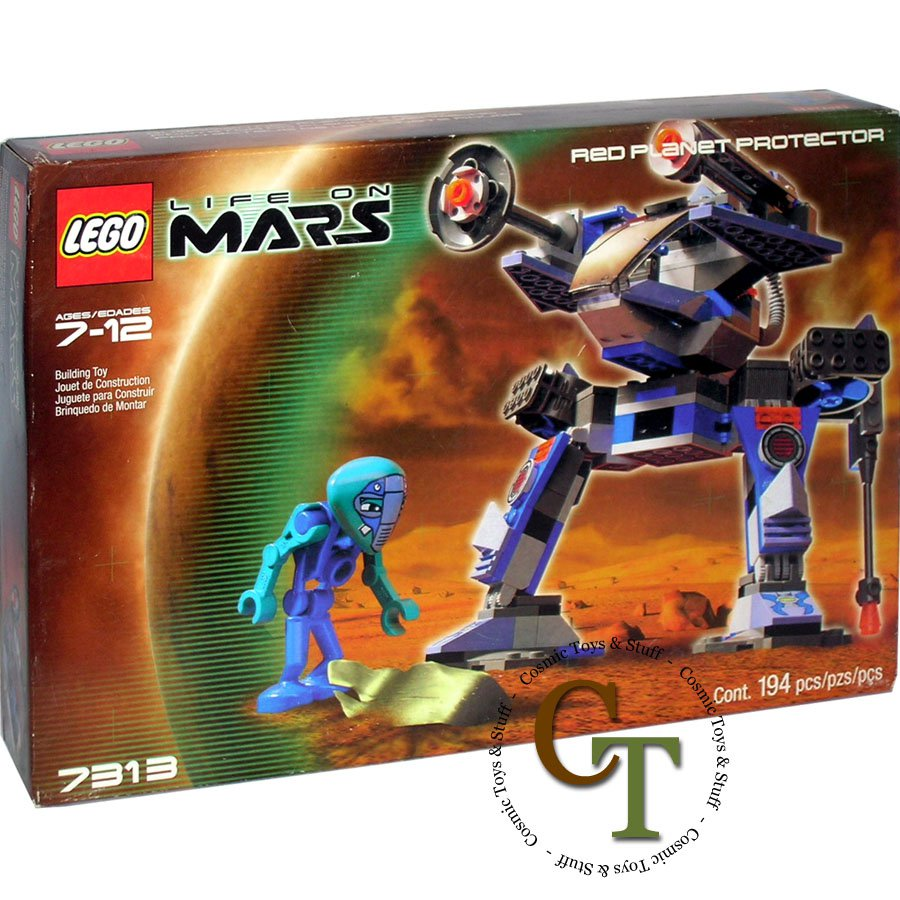 LEGO 7313 Red Planet Protector - Life on Mars