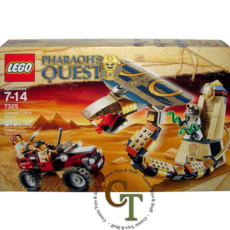 LEGO 7325 Cursed Cobra Statue - Pharaoh's Quest