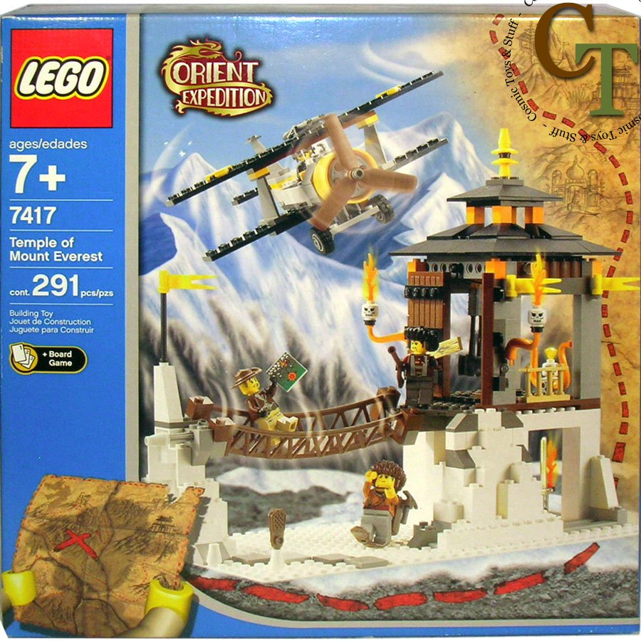LEGO 7417 Temple of the Mountain - Orient Expedition
