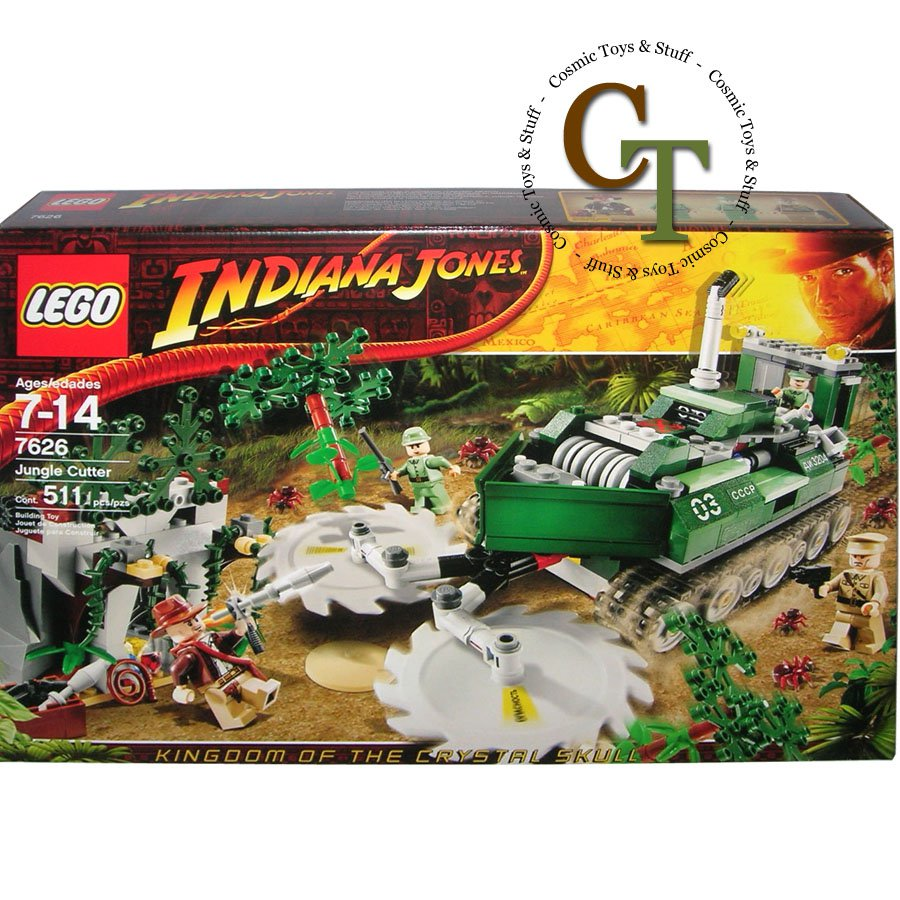 LEGO 7626 Jungle Cutter - Indiana Jones