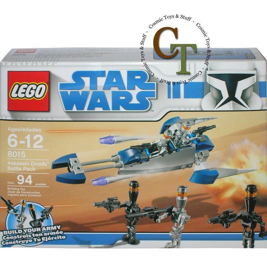 LEGO 8015 Assassin Droids Battle Pack - Star Wars