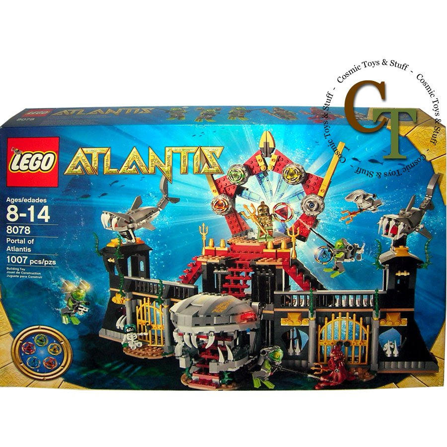 LEGO 8078 Portal of Atlantis