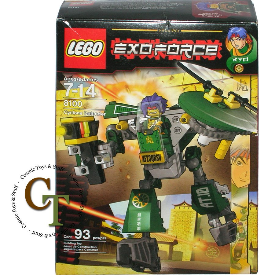 LEGO 8100 Cyclone Defender - Exo-Force