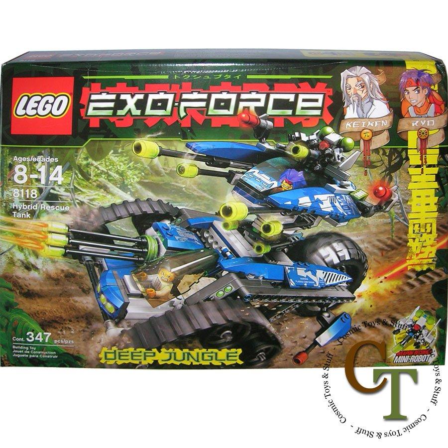 LEGO 8118 Hybrid Rescue Tank - Exo-Force