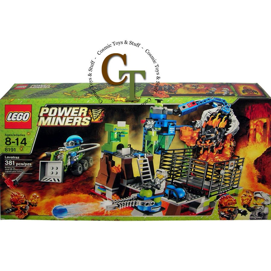 LEGO 8191 Lavatraz - Power Miners
