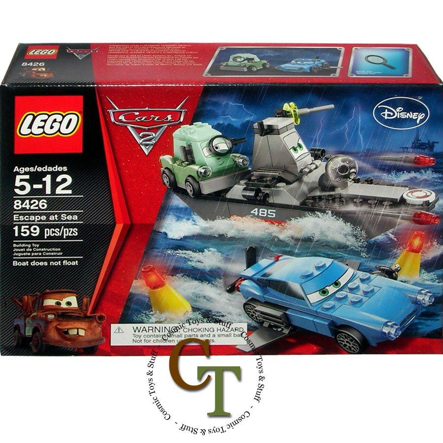 LEGO 8426 Escape at Sea - Disney Cars