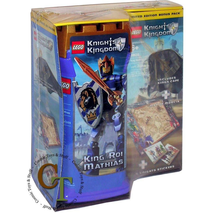 LEGO 8809 King Mathias - Knights Kingdom