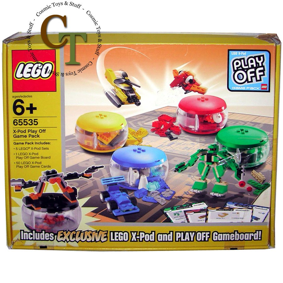 LEGO 65535 X-Pod Play Off Game Pack - X-Pod