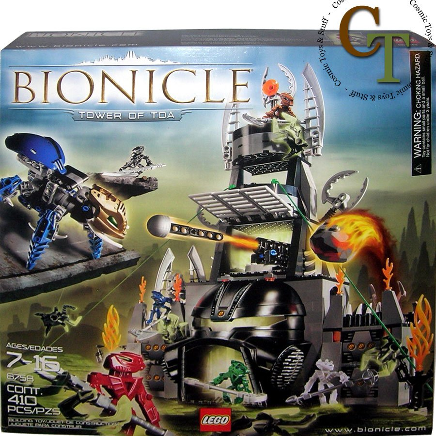 LEGO 8758 Tower of Toa - Bionicle