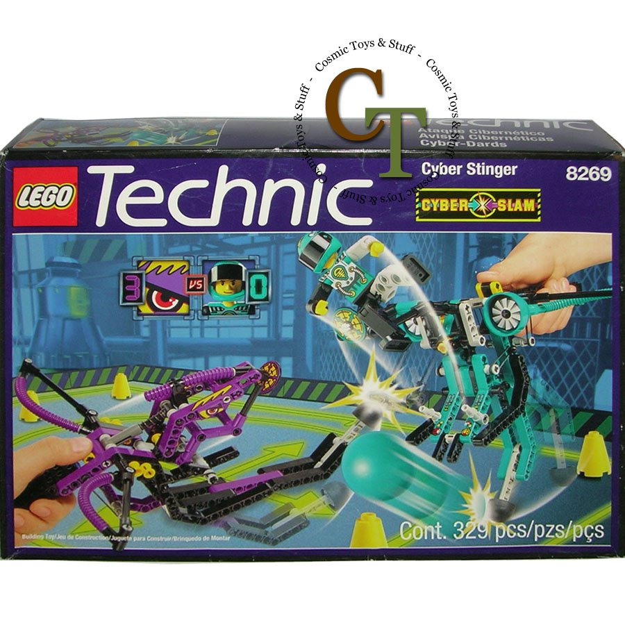 LEGO 8269 Cyber Stinger Uppercut and ball - Technic