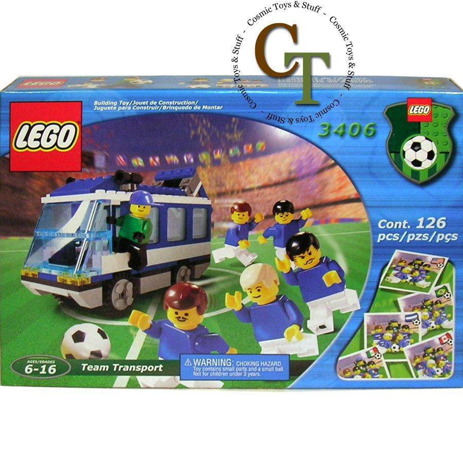 LEGO 3406 Americas Bus - Sports Soccer