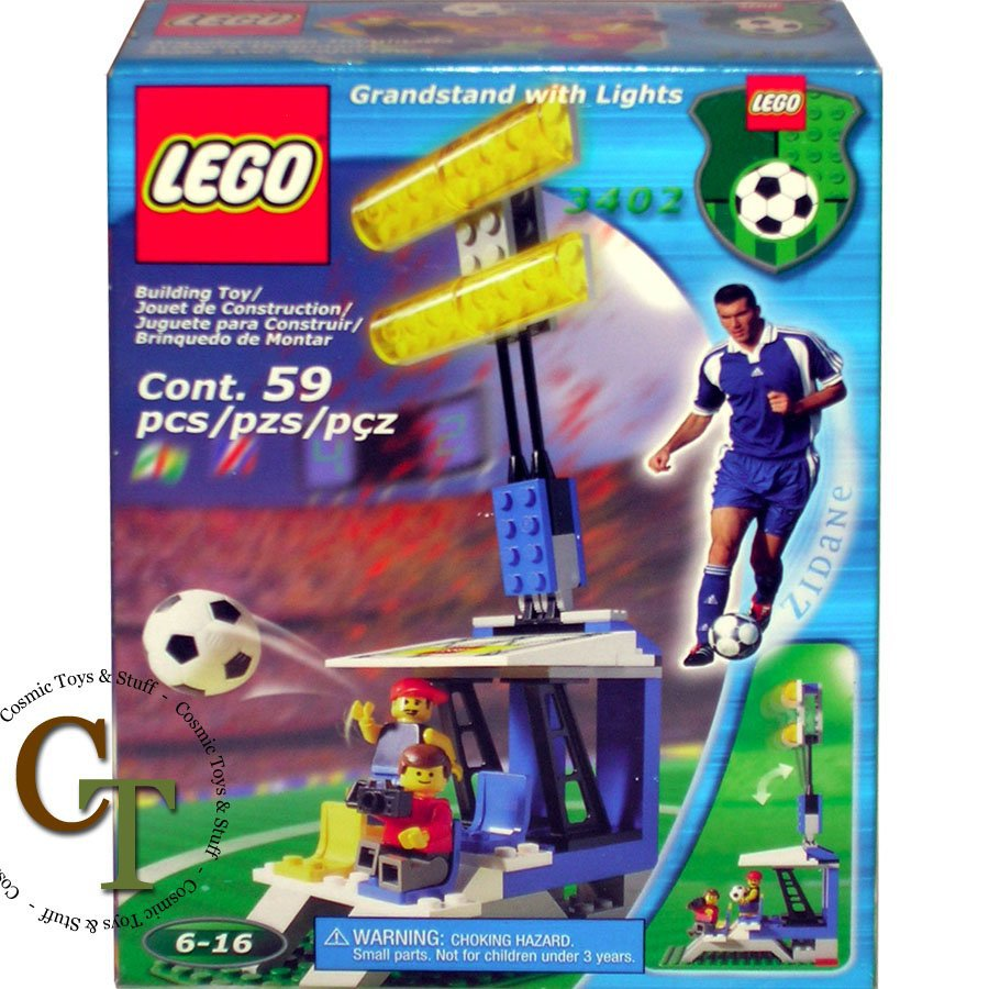 LEGO 3402 Stand with Lights - Sports Soccer