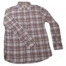 Mens Gray White Black SONOMA Button Down Shirt Large