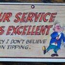Vintage 1959 Topps WACKY PLAK Trading Post Card #56