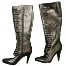Womens Black CALVIN KLEIN Brielle Boots 7 1/2 M