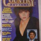 Vintage August 1982 COUNTRY RHYTHMS Magazine ROSANNE CASH JOHNNY CASH